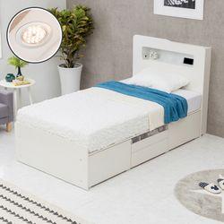 에단 LED 수납 침대(SS)