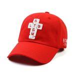 AOS BASEBALL CAP RED