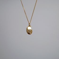 Gold Paint Necklace