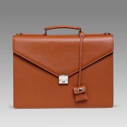 엠비지오네 레트로 클래식(RETRO) 서류가방 (브라운)