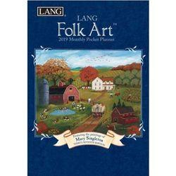 2019포켓다이어리-Lang Folk Art