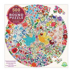 파랑새와 방울새 500피스 라운드 퍼즐