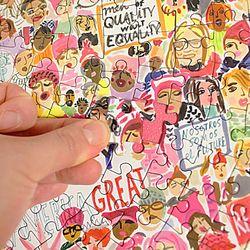 여성의 행진 500피스 라운드 퍼즐