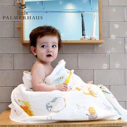 토토리 알파벳 양면 아기목욕타올 1장 신생아목욕타올 블랭킷
