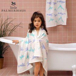 토토리 고래프렌즈 양면 아기목욕타올 속싸개 신생아목욕타올