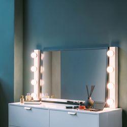 LED 화장대 간접 벽조명 라이트박스
