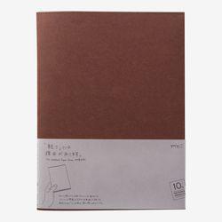 MD 노트 커버 [紙] 10th Cordoba 브라운 (A4변형판)