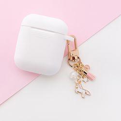핑크 유니콘 미니 에어팟 키링