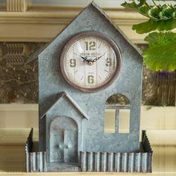 R526 철재 하우스 탁상시계