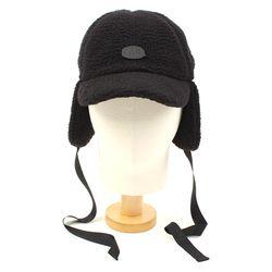 Black Fleece Ear Flap Cap BKMT 귀달이모자