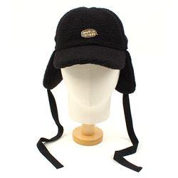 Black Fleece Ear Flap Cap GDMT 귀달이모자