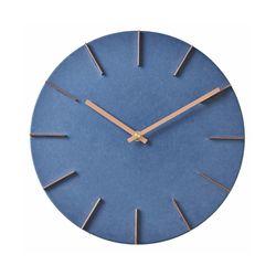 황동인덱스 벽시계(블루)