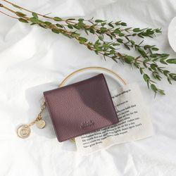D.LAB Vivienne Half Wallet - Purple