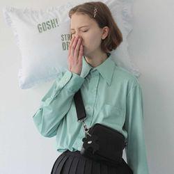 SISTER TRAPEZOID MINI BAG (BK)