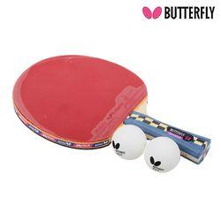 Butterfly NAKAMA S4 쉐이크 (양면)형 탁구라켓+운동팔찌or발찌