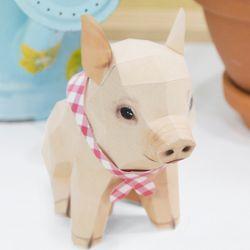 아기 돼지 페이퍼크래프트 만들기