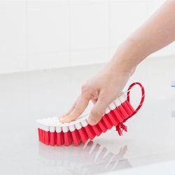 욕실 청소 브러쉬 레드