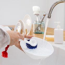 설거지 브러쉬 블루