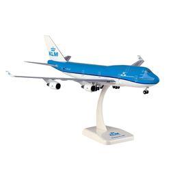 200스케일 B747-400 KLM (HG910123BL)네덜란드항공 비행기