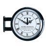 모던양면시계 블랙 T0604
