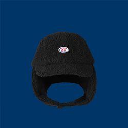 CXX trapper hat - BLACK