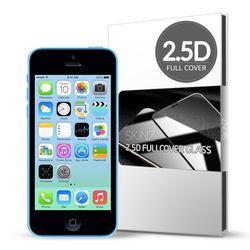 스킨즈 아이폰5C 2.5D 풀커버 강화유리필름 (1장)