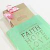 선물포장 비닐백(중) Faith (20매) 민트