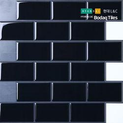 [보닥타일]손쉽게 붙이는 보닥타일 빅브릭 다크그레이