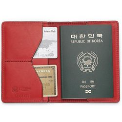 국산 여권지갑 여권케이스 색상 레드 CH1424502