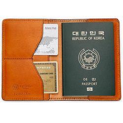 국산 여권지갑 여권케이스 색상 연브라운 CH1424499