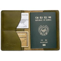 국산 여권지갑 여권케이스 색상 카키 CH1424499