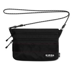 KIRSH POCKET SACOCHE BAG IS [BLACK]