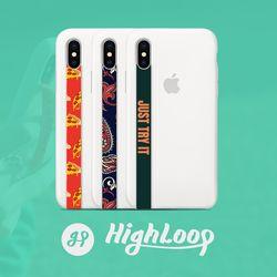 하이루프 폰스트랩 단품 - 아이폰 갤럭시 LG