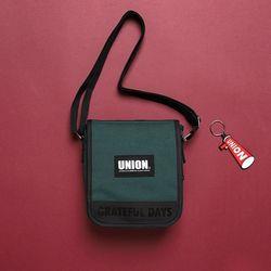 [유니온오브제] UNION COVER CROSS BAG - GREEN