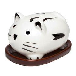 귀여운 고양이 인센스 콘 홀더
