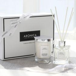 아로니카 럭셔리 듀오 선물세트(쇼핑백)
