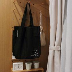 Black logo bag