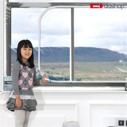 다샵 창문형 지퍼식 방풍비닐 EVA 투명 180x150