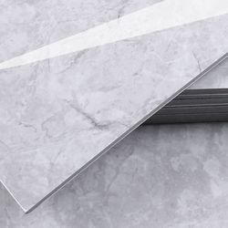 3T접착식 데코타일 (TL-06) 유광 대리석 마블그레이