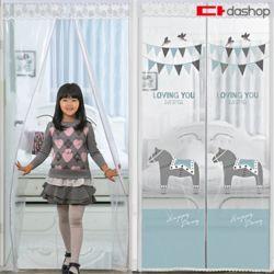 현관/방문 방풍비닐 EVA 포니랜드 투명 90x210