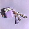 Glitter 크리스탈 썬캐쳐 키링+에어팟 케이스 (2color)