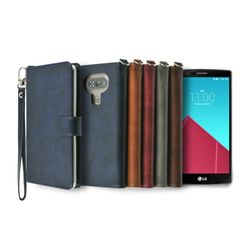 LG G4용 캐시 지갑 다이어리 케이스