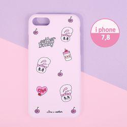 핑크빛 에스더버니 하드 핸드폰케이스 아이폰78 CLAB19202ALS