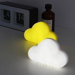 반응형 센서감지 충전식 LED 구름 취침등 앤 수유등