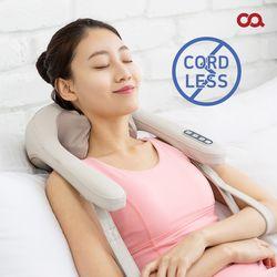오아 무선 넥앤숄더 목 어깨 안마기 온열 마사지기 OA-MA012