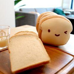 코튼푸드 모찌인형 식빵쿠션15cm