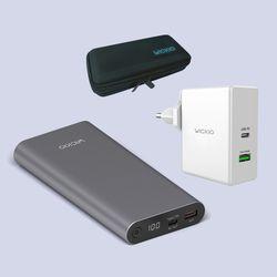 위키오 CRB003보조배터리+CRB006충전기+CRP003케이스 패키지