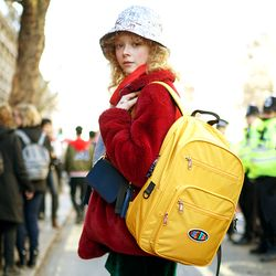 Funky Backpack 백팩-Mustard