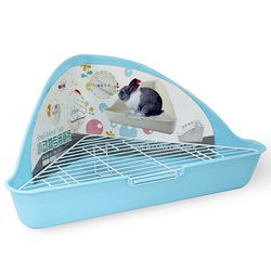NEW AGE 삼각코너형 토끼 화장실 블루 (NA-021)