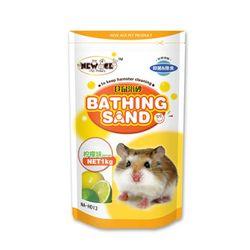 NEW AGE 햄스터 살균 목욕모래 레몬향 1kg (NA-H013)